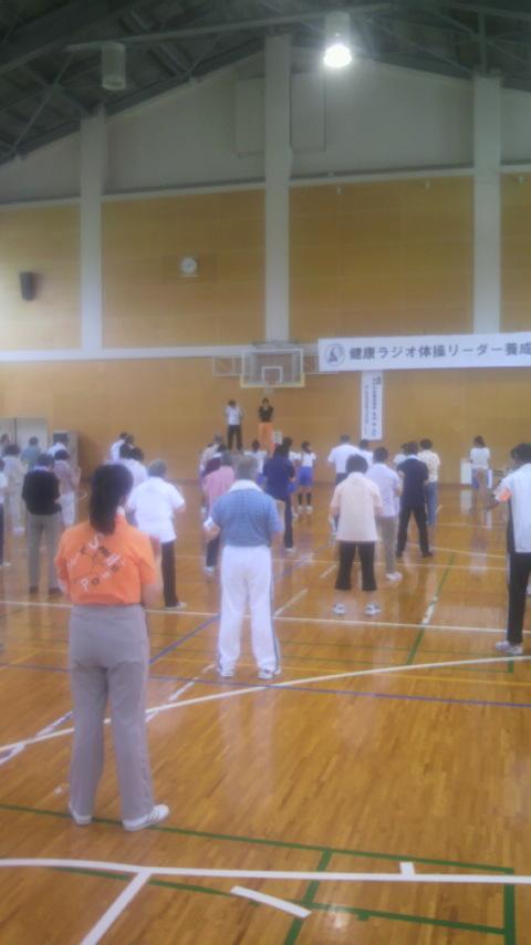 健康ラジオ体操リーダー養成講座